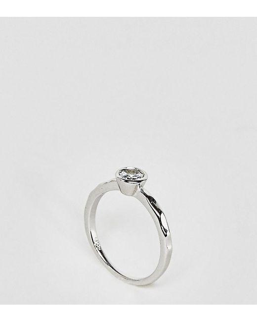 Kingsley Ryan | Metallic Sterling Silver Promise Ring | Lyst