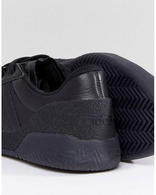 Adidas originali city cup scarpe in nero cg5636 in nero per gli uomini.