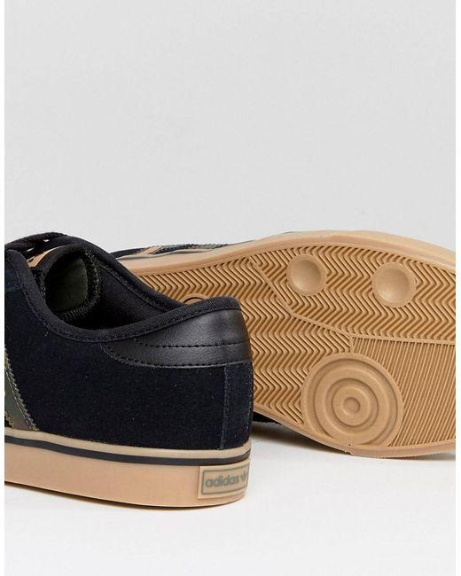 Lyst adidas Originals Seeley formadores con gumsole by4015 en negro