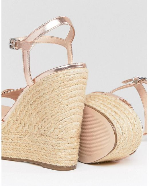 Office Wonder Rose Espadrille Wedges DFPDnonxO