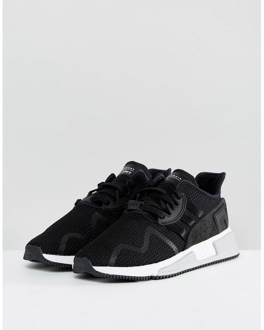 Adidas Originals  Eqt Cushion Adv Trainers In Black By9506 for Men  Lyst
