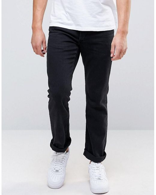 Jack & Jones | Black Jack And Jones Regular Jeans In Mid Wash for Men | Lyst