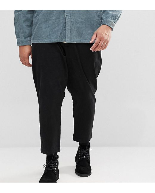 Only & Sons | Black Plus Cropped Chino for Men | Lyst