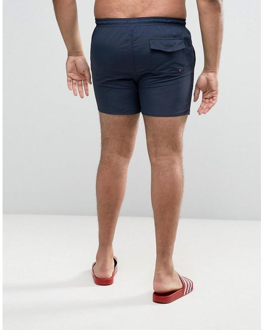 PLUS Swim Shorts with Contrast Draw String and Inner - Navy French Connection Clearance Inexpensive YCr5XR9