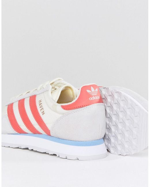 adidas Haven Sneakers In Off And Red fcoyVW0