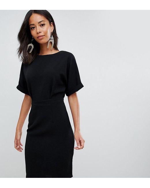 ASOS - Black Asos Design Tall wiggle Mini Dress - Lyst