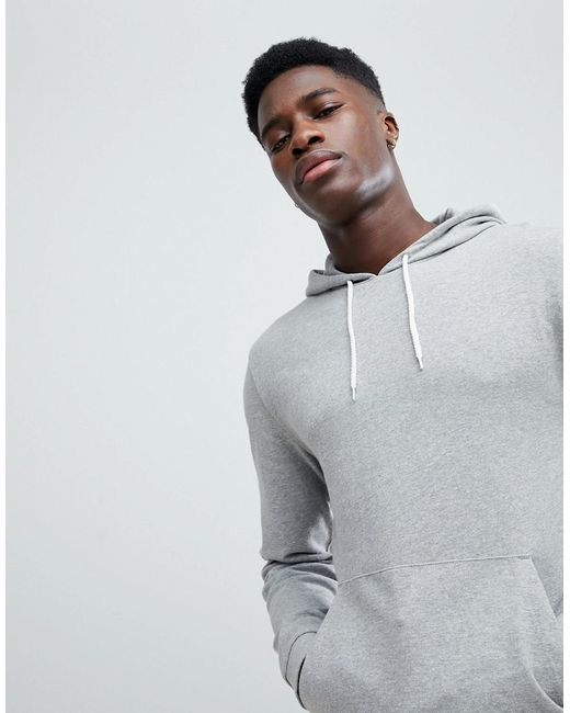 Hoodie & Longline Tshirt 2 Pack Grey Marl/White SAVE - Grey marl/white Asos Lowest Price Buy Cheap Looking For Sale With Credit Card Cheap Sale Excellent Cheap Sale Authentic nSY1YT