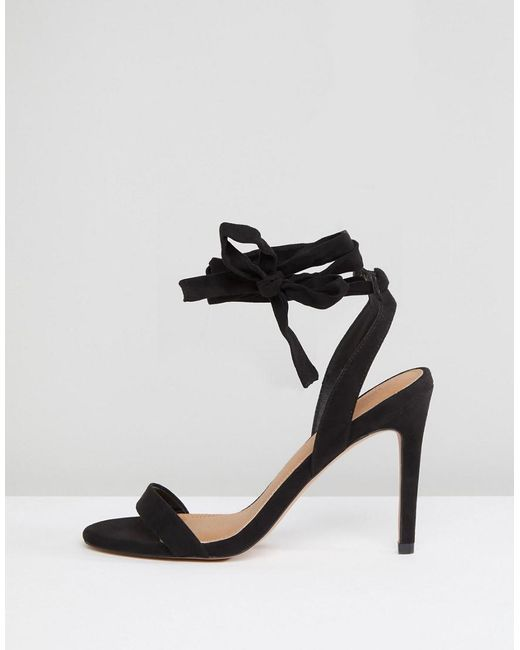 ASOS DESIGN Hatty barely there heeled sandals DP4jxM3THZ
