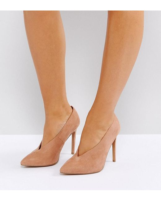 ASOS DESIGN - Natural Asos Priority High Heels - Lyst