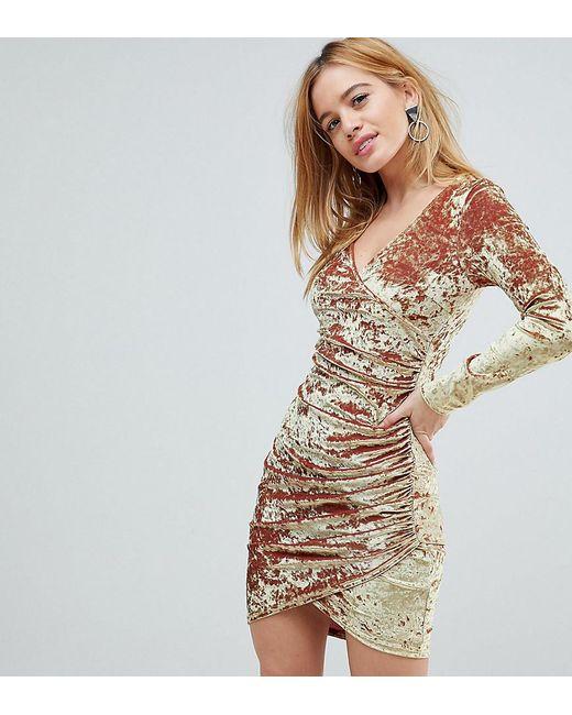 Ruched Mini Dresses