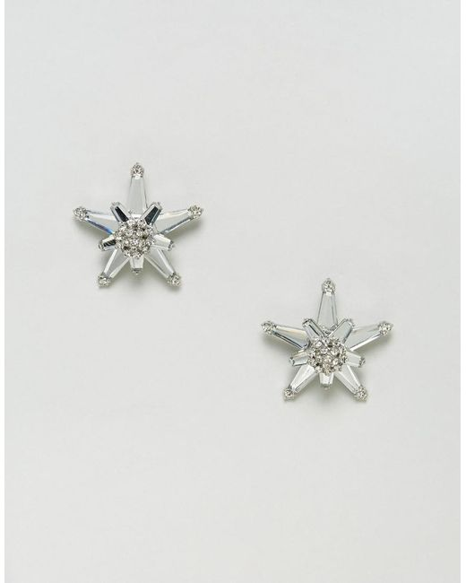 ASOS | Metallic Starshine Stud Earrings | Lyst