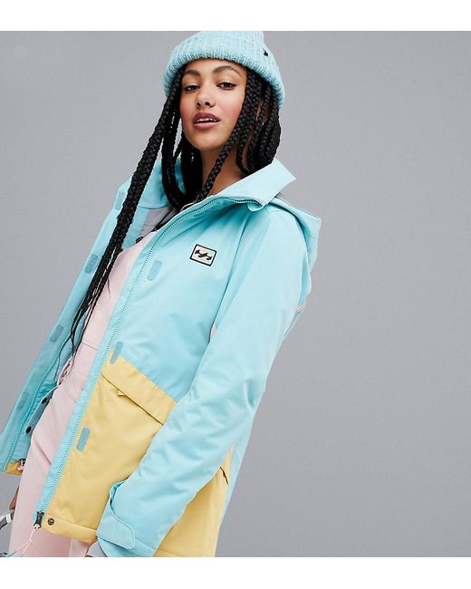 fe6189c9f4 Lyst - Billabong Kayla Ski Jacket In Blue in Blue