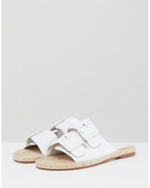 Suncoo Chunky Buckle Leather Sandals qFr3WMOxKM