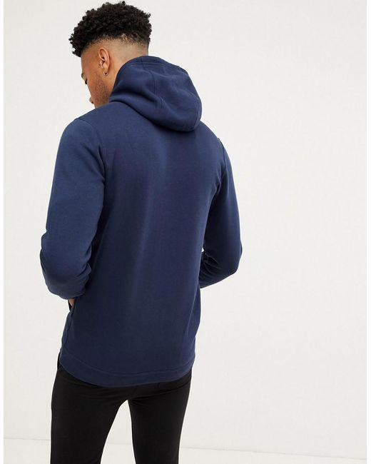 1f5208883 ... Nike - Blue Tall Club Hoodie In Navy for Men - Lyst