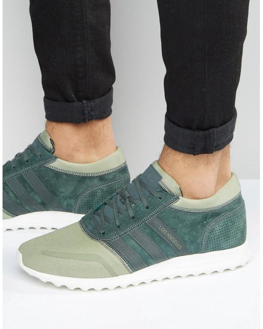 Adidas Originals | Los Angeles In Green S31528 for Men | Lyst
