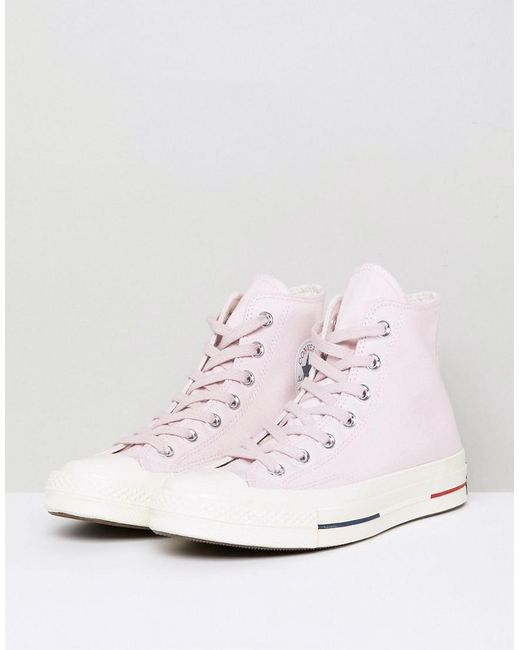 Chuck Taylor All Star 70 Hi Trainers In Pink - Pink Converse SGhQSnvt3H