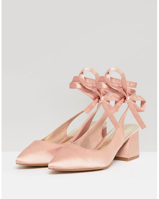 ASOS SWEETHEART Bridal Pointed Heels