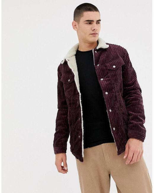 Nudie Jeans - Purple Co Lenny Wide Cord Jacket for Men - Lyst