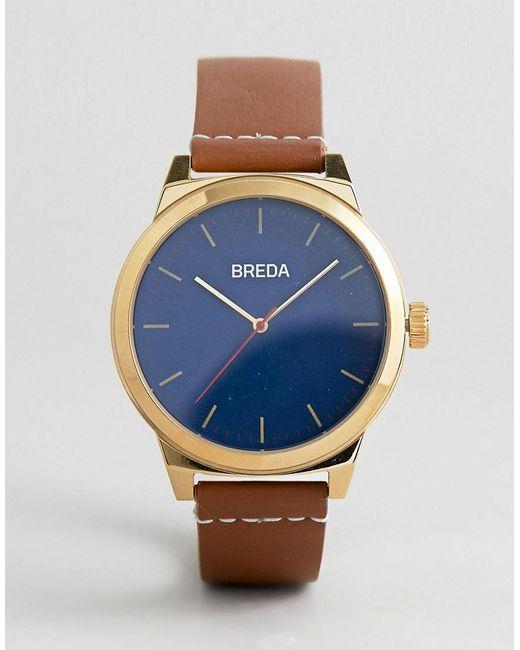Breda - 8184c Men's Analog Display Quartz Brown Watch for Men - Lyst