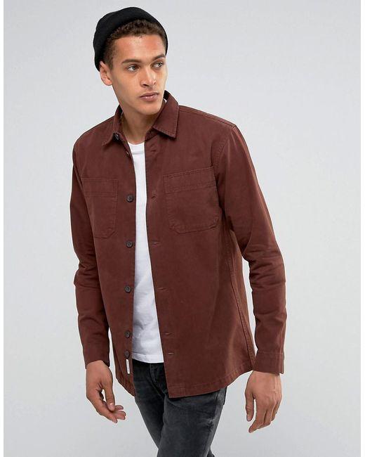 Bellfield | Brown Workwear Overshirt for Men | Lyst