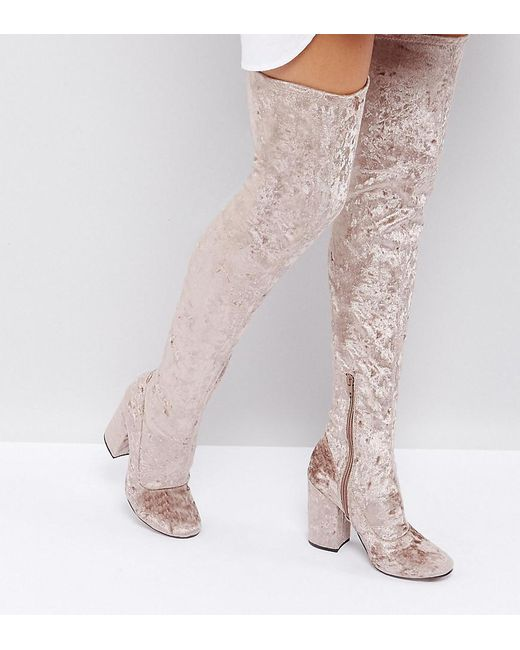 KATCHER Heeled Over The Knee Boots largest supplier for sale huge surprise cheap price cheap great deals Z21bX02BR