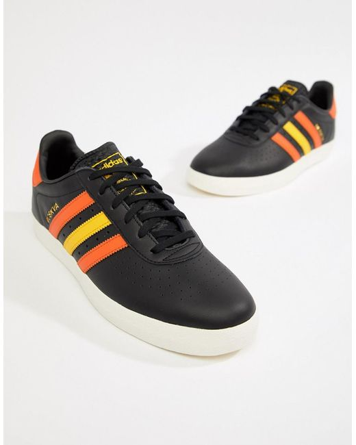 63b76b0f7a3437 adidas Originals 350 Trainers In Black Cq2777 in Black for Men - Lyst