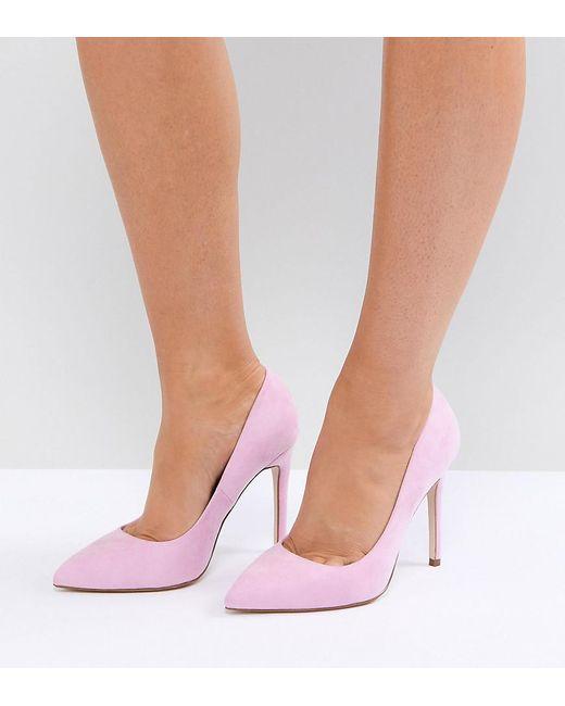 ASOS DESIGN - Pink Asos Paris Pointed High Heels - Lyst