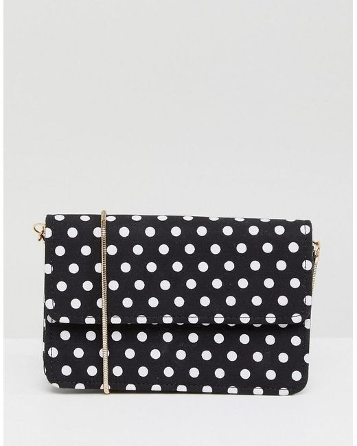 f6cb7076b810 Miss Selfridge - Multicolor Polka Dot Crossbody Bag - Lyst ...