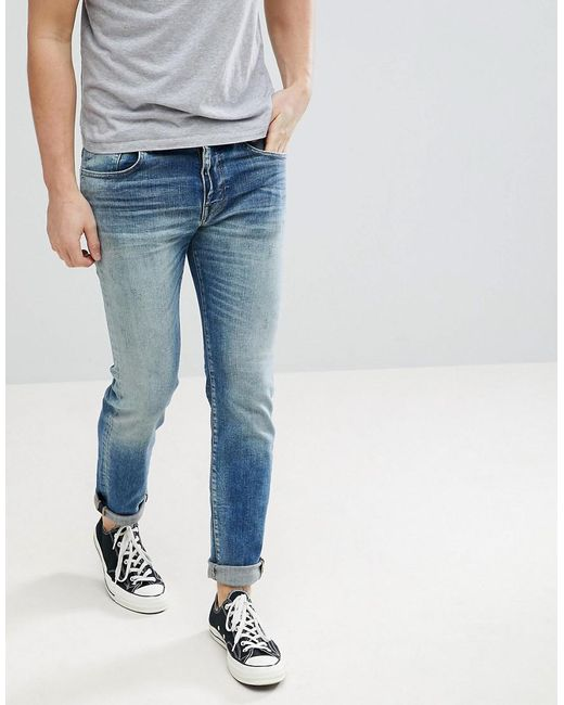 SELECTED - Blue Jeans In Slim Fit for Men - Lyst