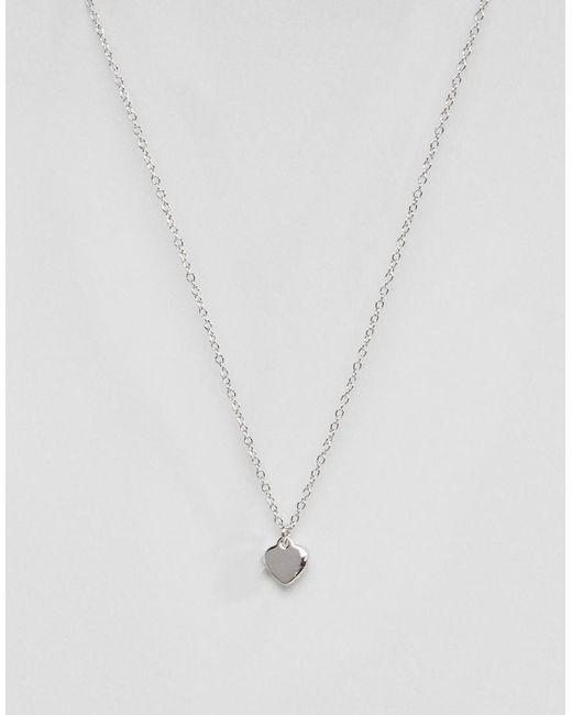 Ted Baker - Metallic Hara Tiny Heart Pendant Necklace - Lyst