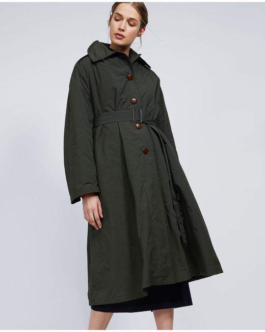 Aspesi - Green Coat Spinarolo - Lyst