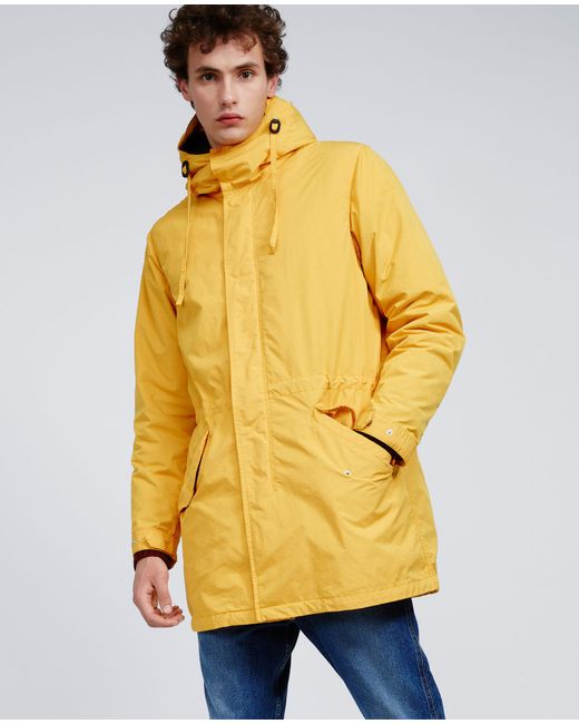 Aspesi - Yellow Thermore Jacket Parkettone for Men - Lyst