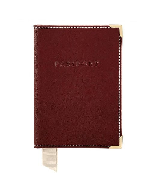 Aspinal - Multicolor Plain Passport Cover - Lyst
