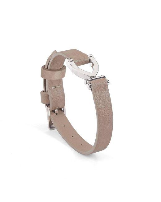 Aspinal | Metallic Stirrup Bracelet | Lyst