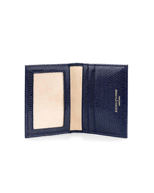 Aspinal | Blue Id & Travel Card Case | Lyst