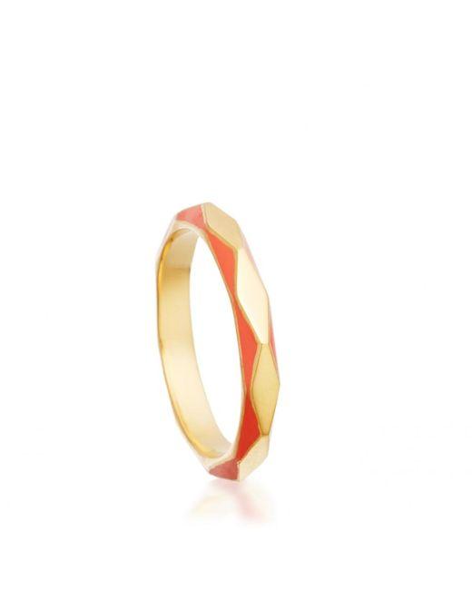 Astley Clarke | Metallic Cajun Shrimp Faceted Ring | Lyst