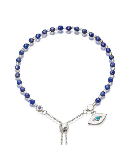 Astley Clarke | Metallic Lapis Evil Eye Kula Bracelet | Lyst