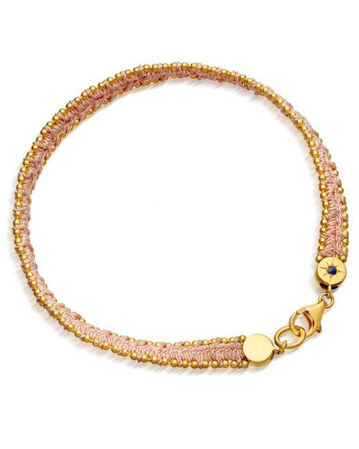 Astley Clarke   Metallic Cajun Shrimp Cosmos Stones Bracelet   Lyst