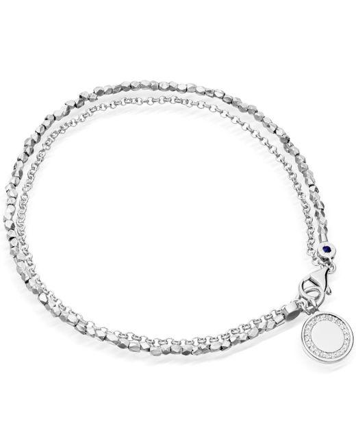 Astley Clarke | Metallic Rose Quartz Sun Biography Bracelet | Lyst