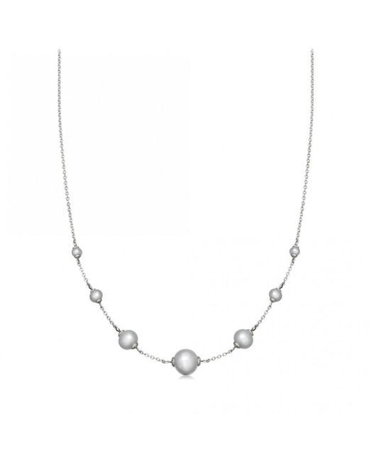 Astley Clarke - Metallic Peggy Pearl Necklace - Lyst