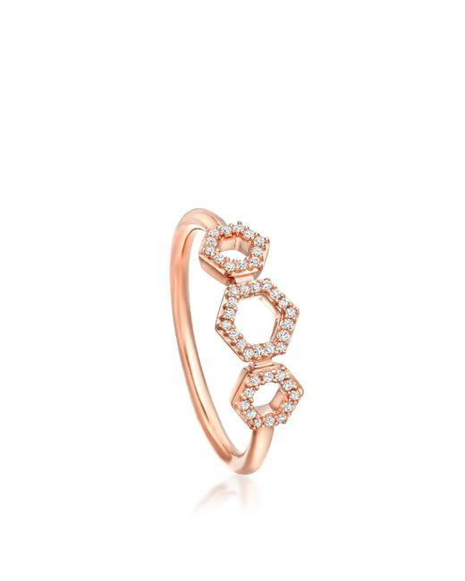 Astley Clarke - Multicolor Triple Honeycomb Ring - Lyst