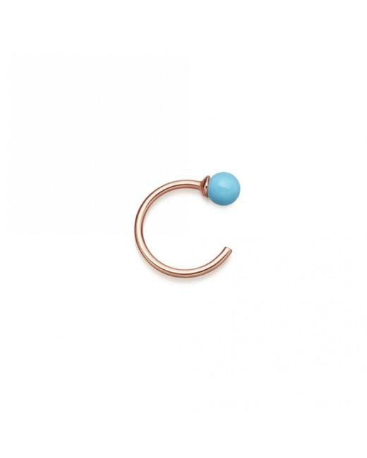 Astley Clarke - Blue Turquoise Hazel Hoop Earrings - Lyst