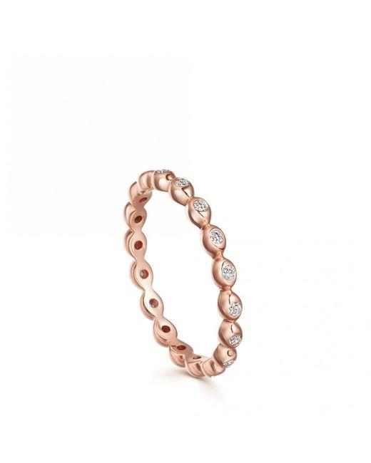 Astley Clarke - Metallic Halo Drop Diamond Ring - Lyst