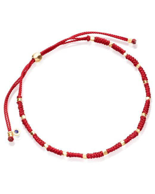 Astley Clarke - Red Protection Skinny Biography Bracelet - Lyst