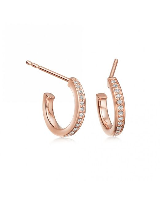 Astley Clarke - Multicolor Sapphire Biography Infinity Hoop Earrings - Lyst