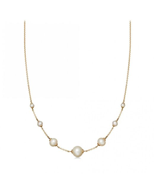 Astley Clarke - Multicolor Peggy Pearl Necklace - Lyst