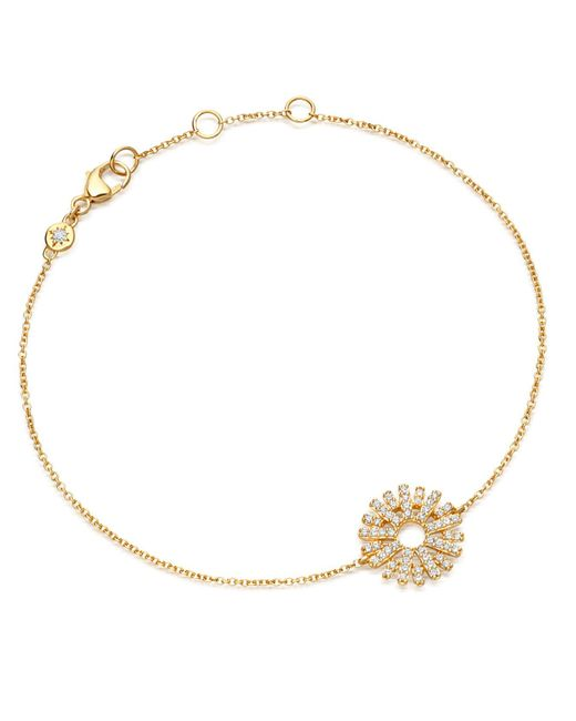 Astley Clarke - Metallic Rising Sun Bracelet - Lyst