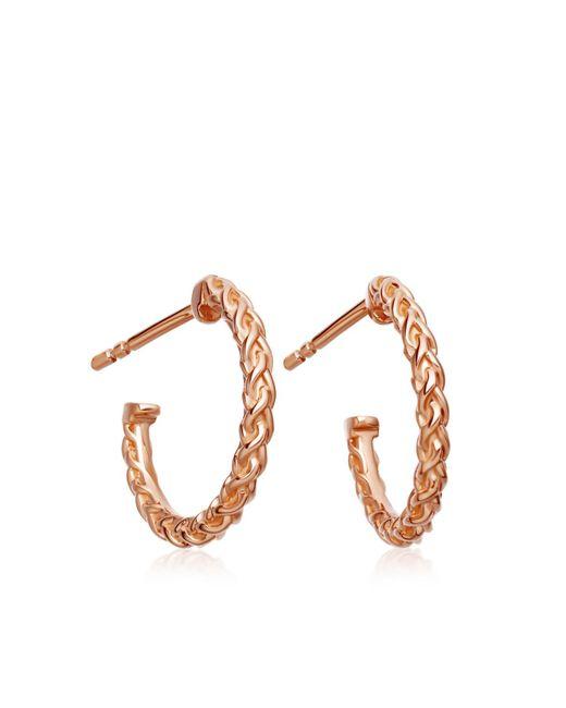 Astley Clarke - Multicolor Mini Spiga Hoop Earrings - Lyst