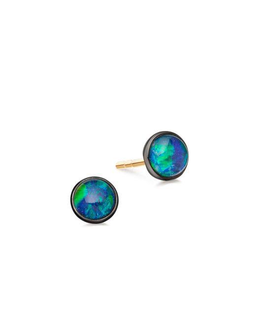 Astley Clarke   Blue Turquoise Hazel Hoop Earrings   Lyst
