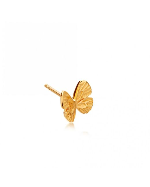 Astley Clarke - Multicolor Single Mini Butterfly Biography Stud Earring - Lyst